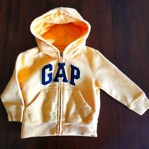 GAP Baby Zip Hoodie 18-24 Months